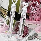 Bolle di sapone per matrimonio, confezione da 48 flaconcini