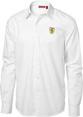 Camisa Scuderia Ferrari Clasica Manga Larga Blanca Talla Xxl: Amazon.es: Ropa y accesorios