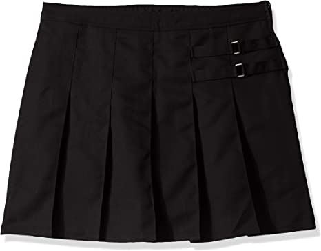 French Toast Big Girls Plus Two Tab Pleated Skort