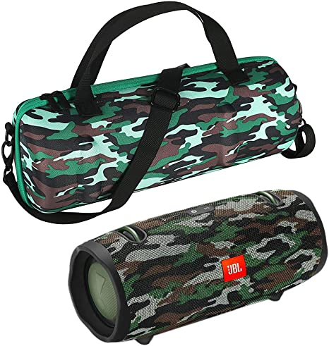 Camouflage Esimen Hard Travel Case for JBL Xtreme 2 //JBL Xtreme Portable Bluetooth Speaker Carry Bag Protective Box