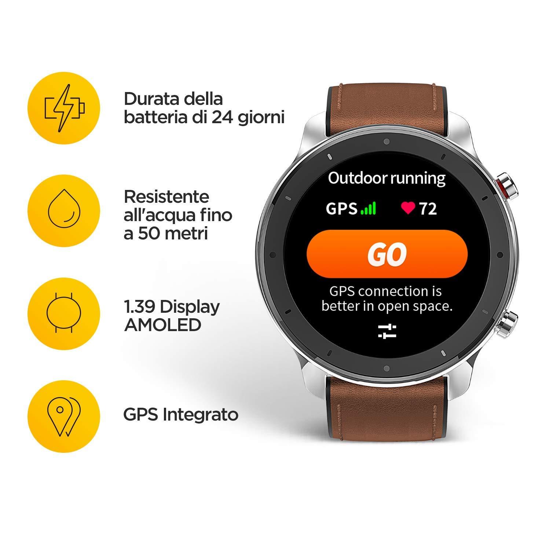 Huami Amazfit GTR 47mm Reloj Smartwatch Deportivo AMOLED de ...