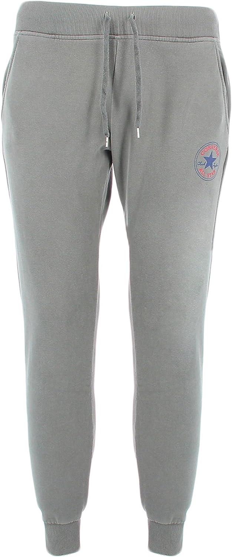 Converse 10006197Gris - Pantalón de chándal para Mujer: Amazon.es ...