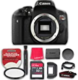 Canon EOS Rebel T6i 24.2 MP Digital SLR Camera Body Only (No Lens) with 32GB Ultra Pro Speed Class 10 SDHC Memory Card + Elite Optics Commander HD Series UV Filter + More! - International Version
