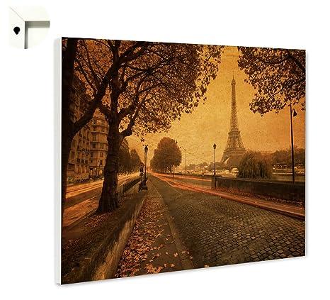 B-wie-Bilder.de Pizarra magnética tablón con diseño Francia ...