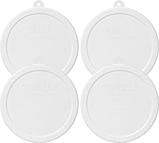 product image for Corelle White Plastic Storage Lid (4)
