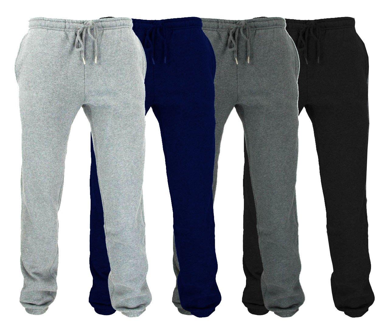 Wear The Gear Boys Kids Bottoms Joggers Jog Pants Tracksuit Jog Bottom Fleece 3 Zip Pockets 5yrs-14yrs