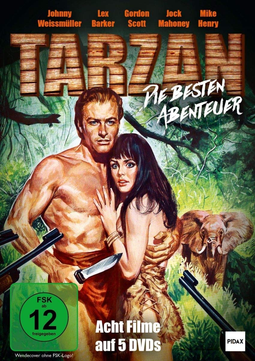 Tarzan - Die besten Abenteuer / Acht spannende Abenteuer mit ...