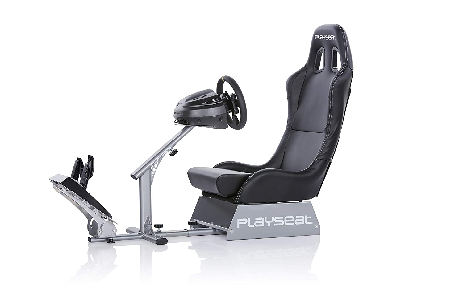 Playseat Evolution Black Racing Video Game Chair For Nintendo XBOX  Playstation CPU Supports Logitech Thrustmaster Fanatec Steering Wheel And  Pedal