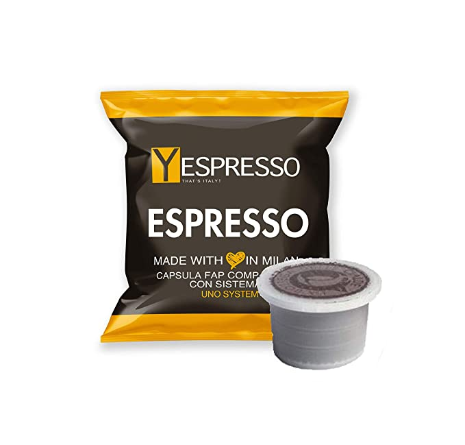 yespresso Cápsulas Uno Indesit System Illy Kimbo COMPATIBLES Espresso