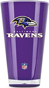 NFL Baltimore Ravens 20oz Insulated Acrylic Tumbler
