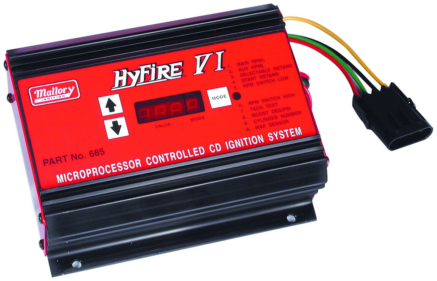 Mallory 685 Hyfire Capacitive Discharge Ignition System Control Tach Wiring Units Amazon Canada