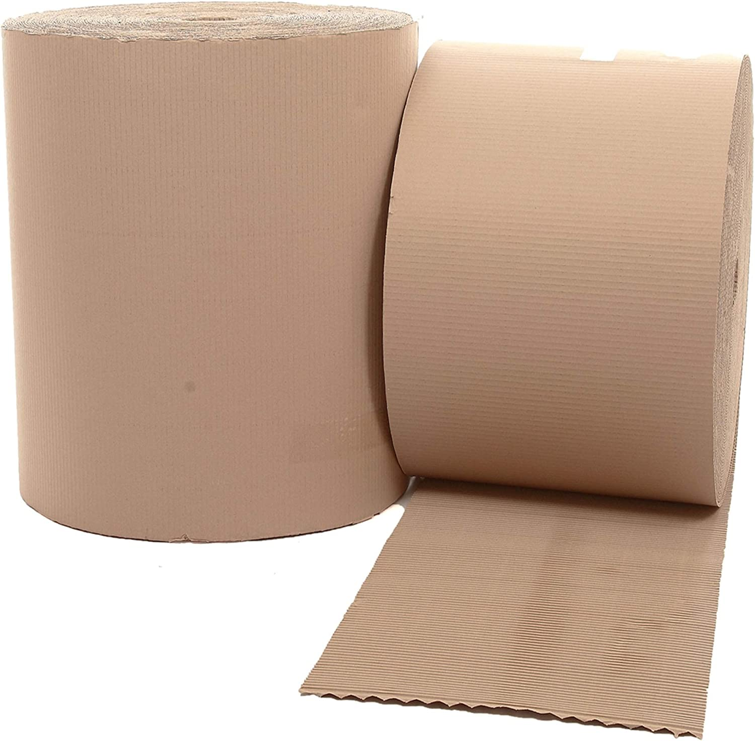 ALL WIDTHS /& SIZES *BEST PRICES* STRONG CORRUGATED CARDBOARD PAPER ROLLS