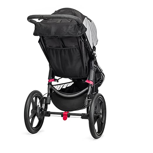 Baby Jogger Summit X3 Single Stroller, Black/Gray