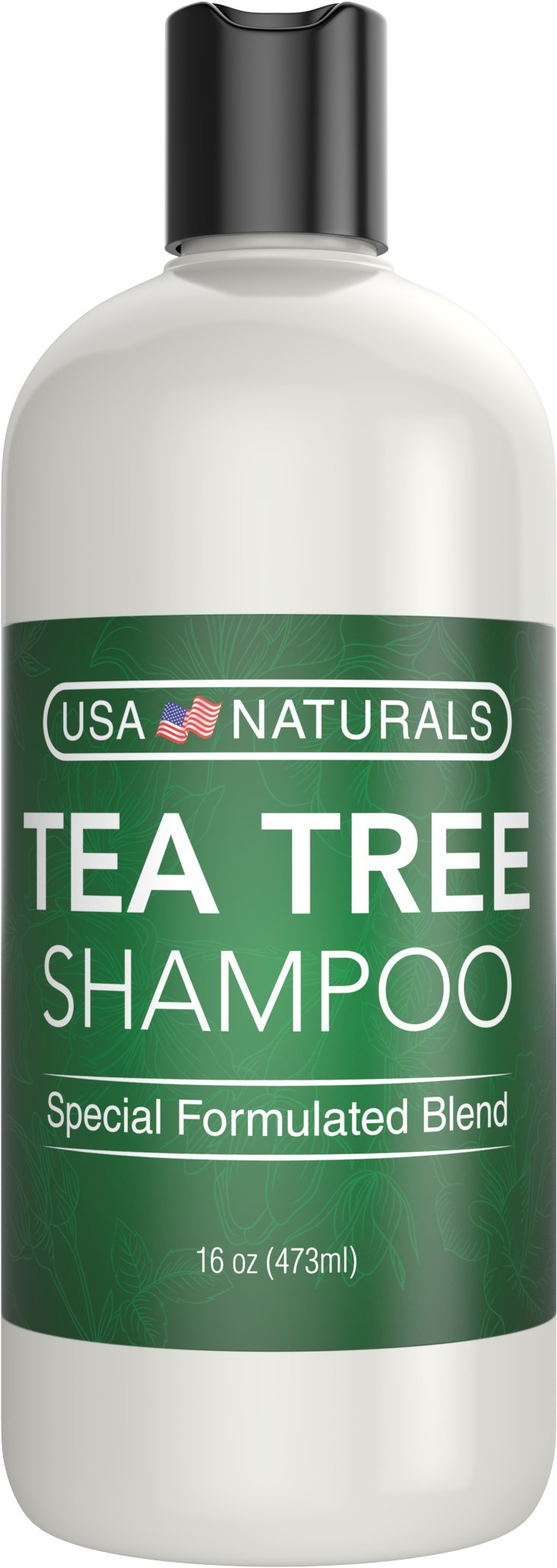 Tea Tree Oil Shampoo Sulfate-Free: Revitalize Hair, Combat Hair Loss and Cleanse Scalp with Naturally-Sourced Ingredients - Pure Tea Tree Oil, Organic Argan Oil, Organic Green Tea (Tea Tree Shampoo) by USA Naturals (Image #8)