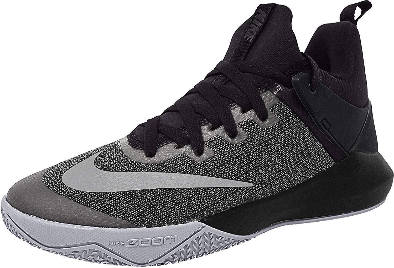 Nike Zoom Shift Noir Mesh Basketball Chaussures: