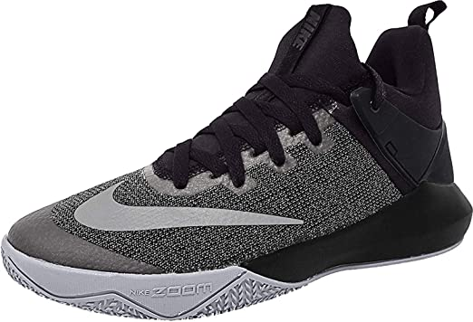 Nike Zoom Shift Noir Mesh Basketball Chaussures: