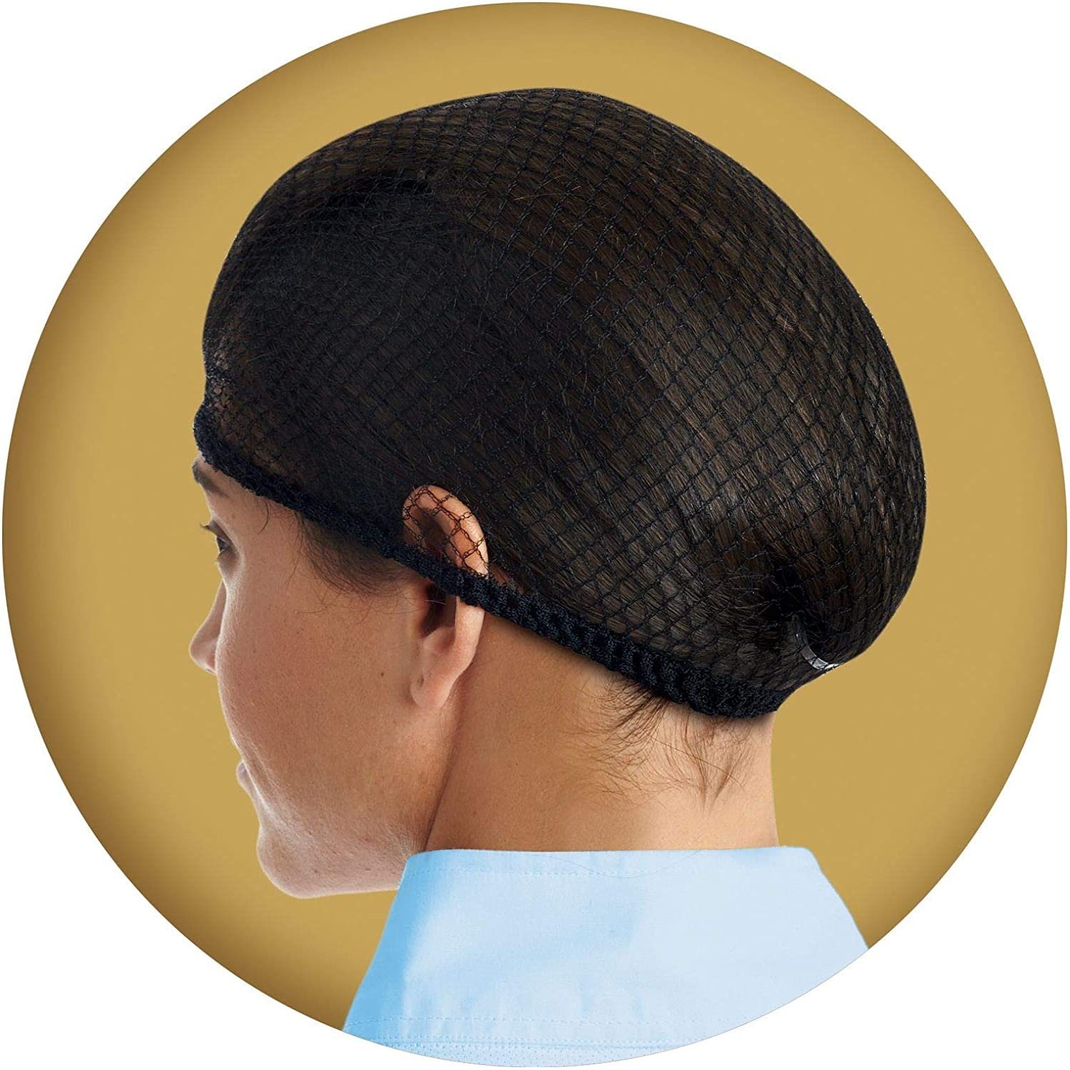 Ovation Deluxe Hair Net Pack of 2, Blonde, One Size