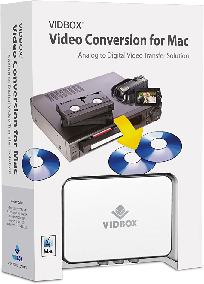 VIDBOX Video Conversion made for mac