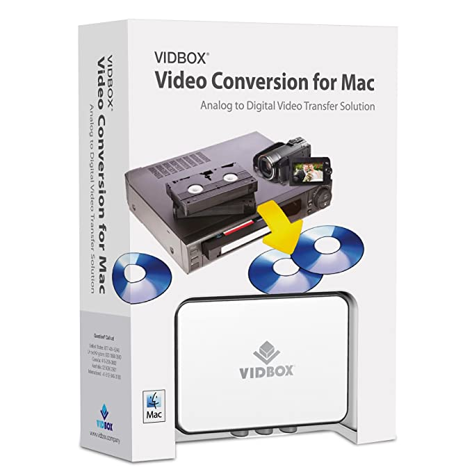 VIDBOX Video Conversion for Mac