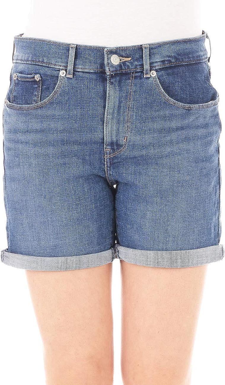 Levis® Pantalones vaqueros para mujer Classic – Azul – Haiwaii Shore Tamaño W24 W32 – Pantalones vaqueros 79% algodón pantalón corto