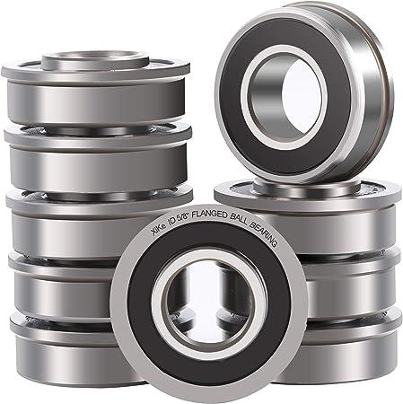 Amazon.com: XiKe 10 unidades de rodamientos de bolas con ...