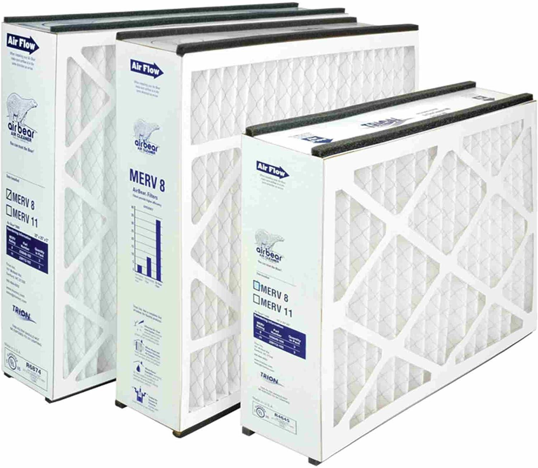 Trion Air Bear 255649-102 Replacement Filter - 20x25x5, Three Per Box: Home & Kitchen
