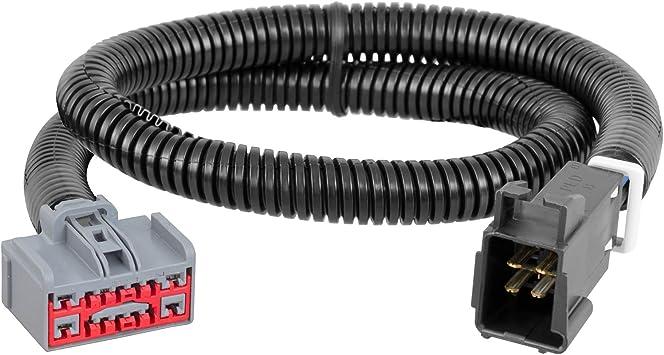 Curt 51110 51525 Venturer Trailer Brake Controller and Harness Bundle Compatible with Silverado Sierra 1500 2500HD 3500HD