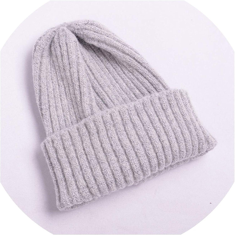 Hat Women Winter Stripe...