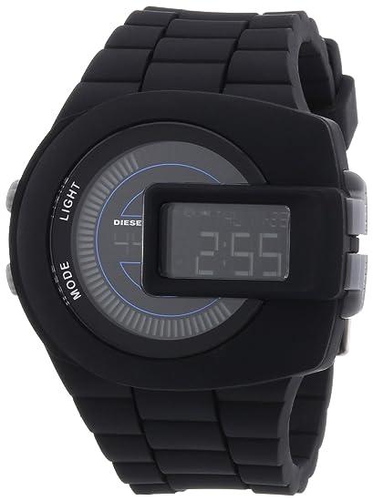 Diesel DZ7274 - Reloj digital de cuarzo para hombre, correa de plástico color negro: Amazon.es: Relojes