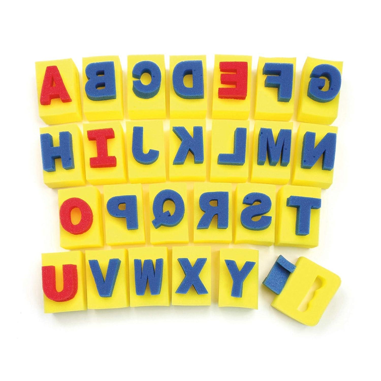 Chenille Kraft Alphabet Handle Sponge Assortment 9087