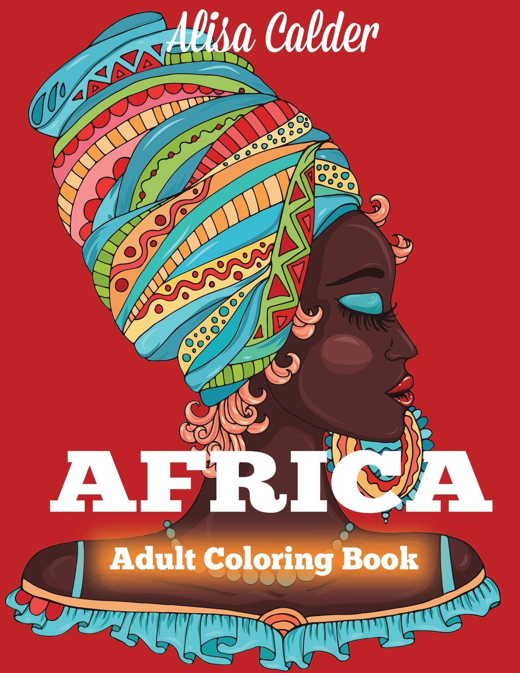 Africa Coloring Book African Designs Coloring Book Of