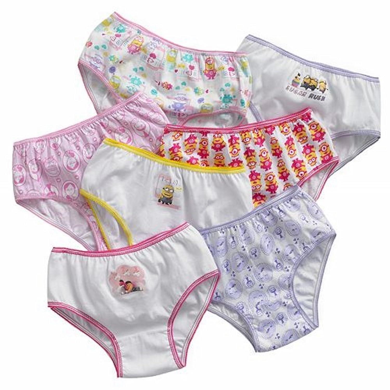 little girls underwear Amazon.com: Despicable Me Little Girls' Minions 7 Pack Underwear Panties:  Clothing