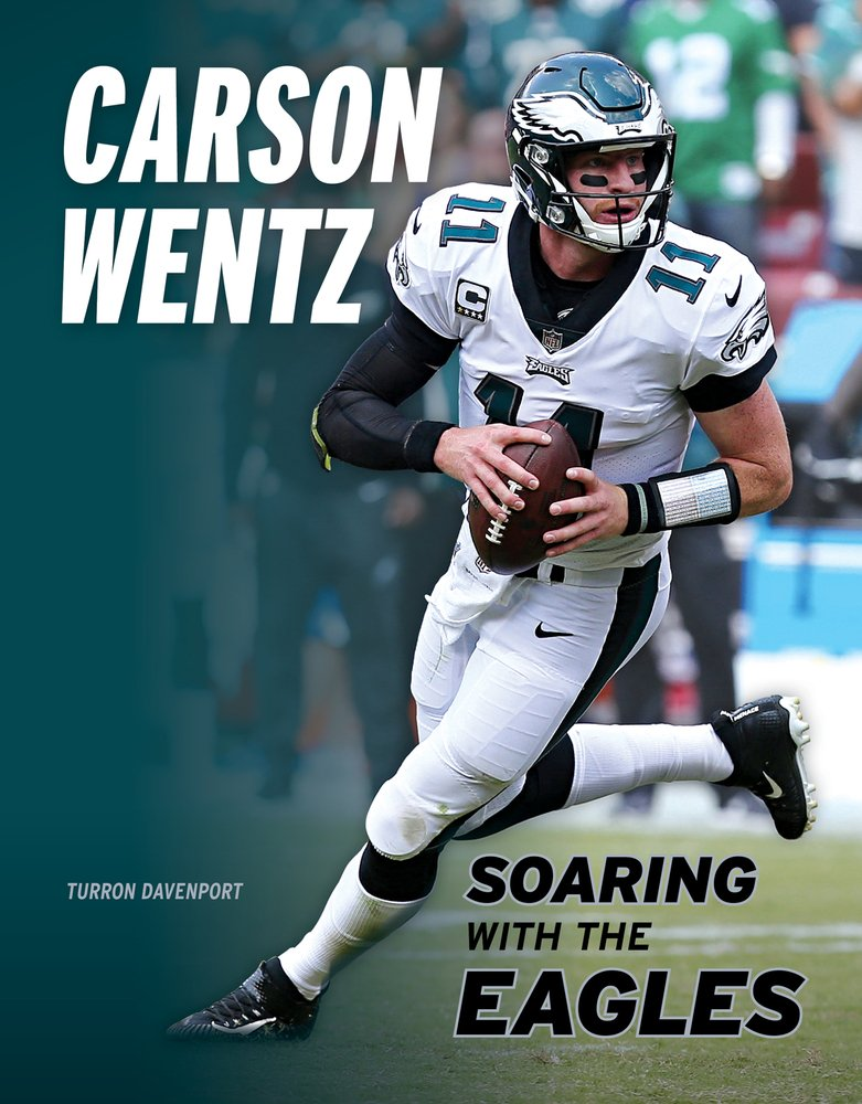 Carson Wentz Soaring With The Eagles Davenport Turron