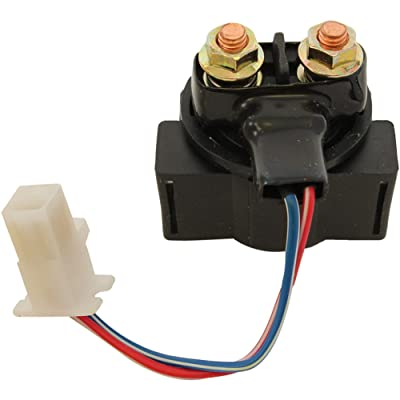 Db Electrical SND6053 Starter For Solenoid Relay Yamaha Badger Breeze Raptor Timberwolf Warrior 350: Automotive