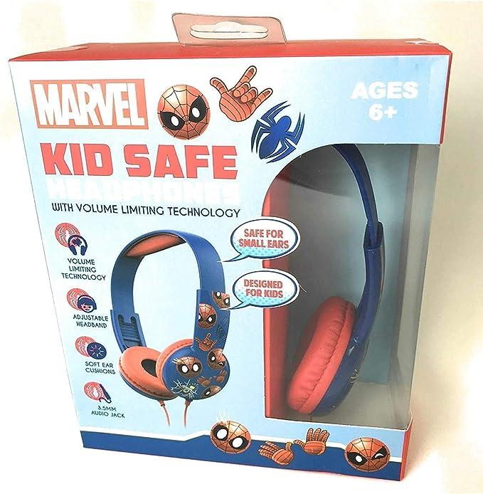 Spiderman Lightweight Secure Sound Headphones Excellent Elektronik