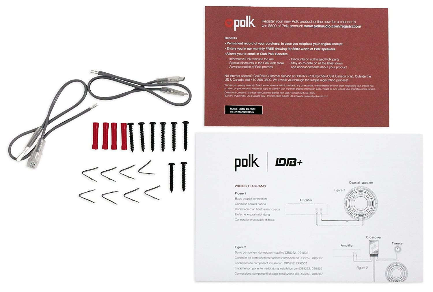 (2) Polk Audio 4