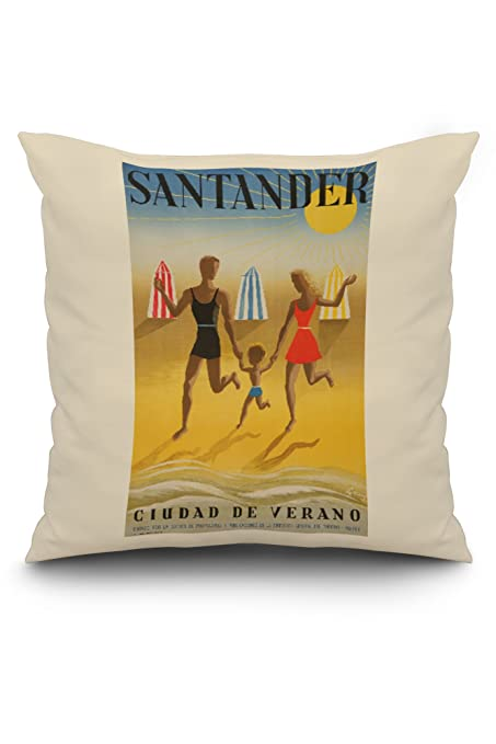 Amazon.com: Spain - Santander - (artist: Geruy c. 1942 ...