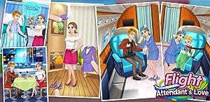 Flight Attendant's Love - Life Game, Girls Game by 6677g ltd