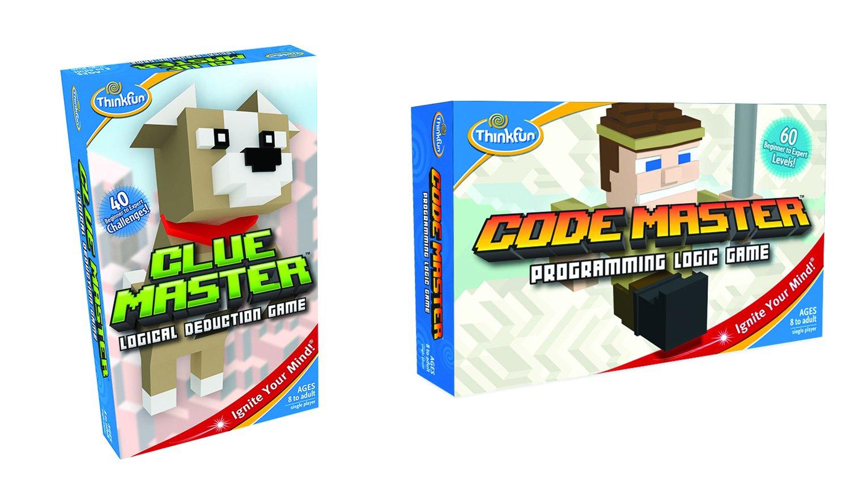 Think Fun Code Clue Master Bundle Board Game