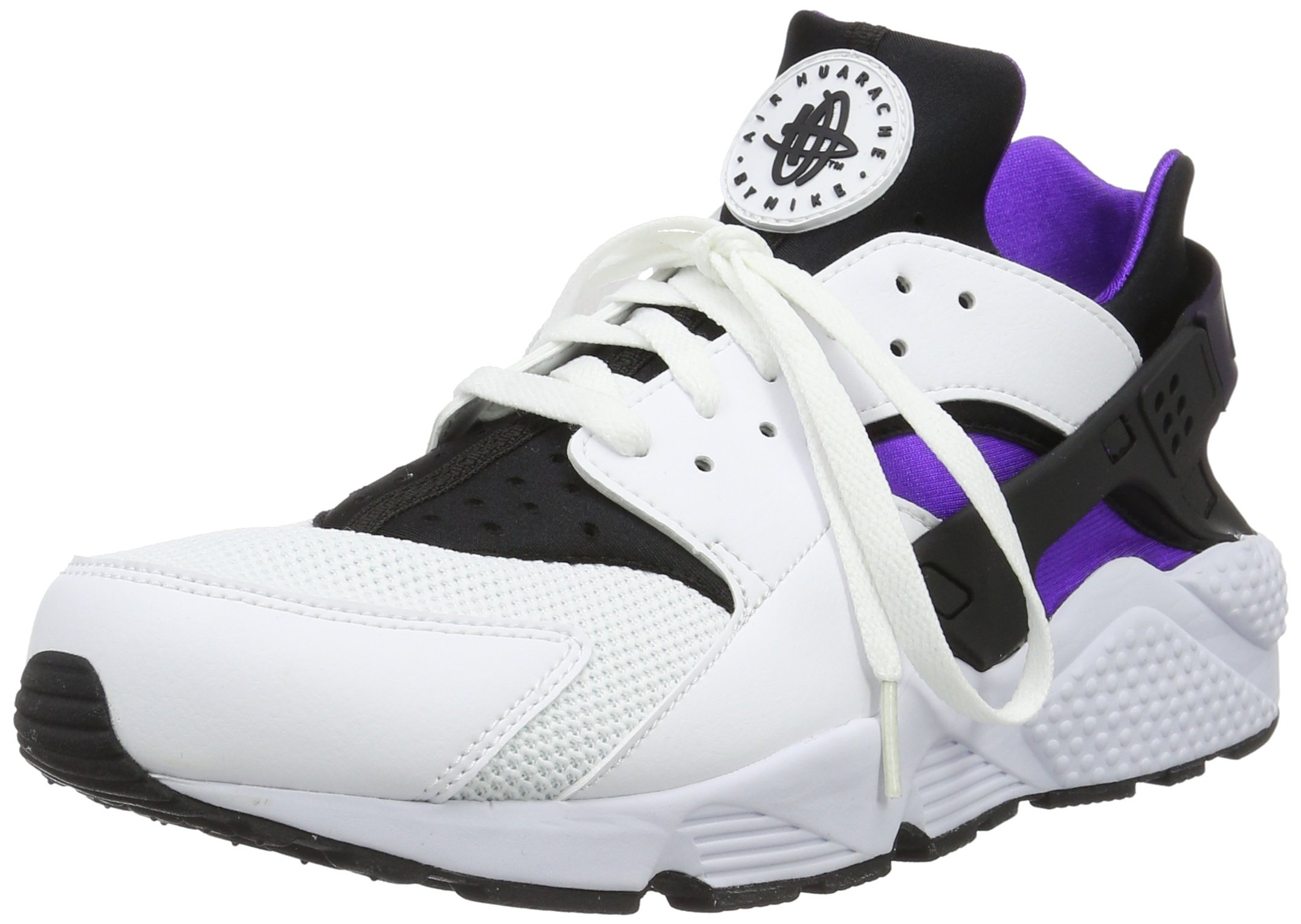 Nike Air Huarache 318429 105 White/Hypr Grp-Black-Purple-Dynsty (11.5)