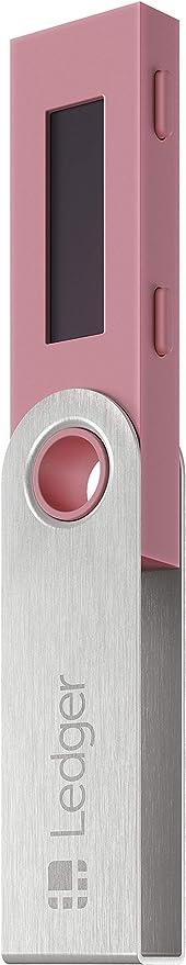 Ledger Nano S - V1.4 - Monedero Hardware de criptomonedas - Flamingo Pink