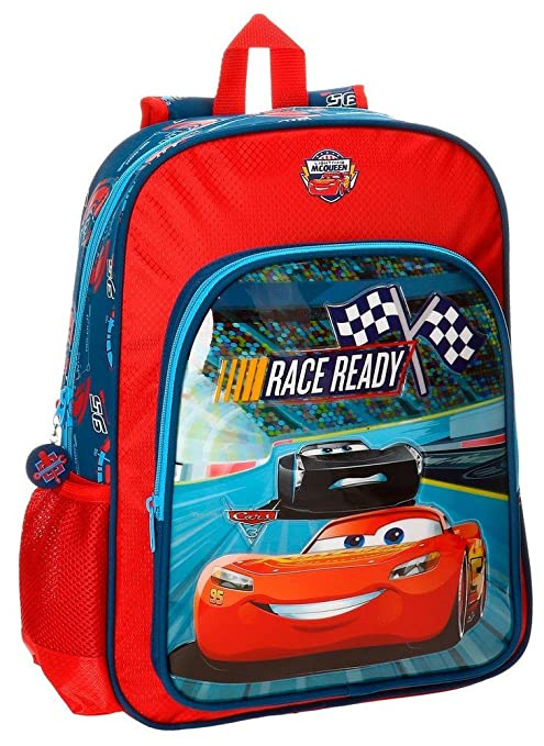 Disney 21523B1 Race Mochila Infantil, 40 cm, 15.6 Litros, Multicolor