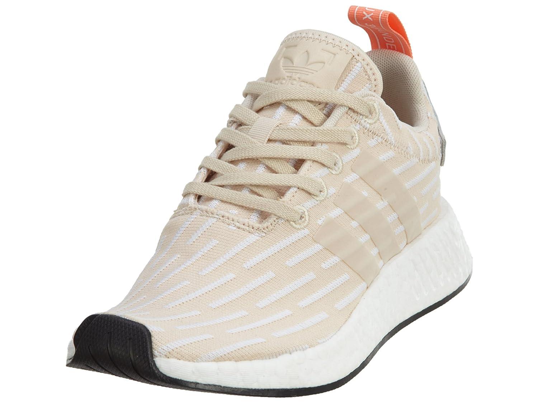 adidas Originals Women's NMD_r2 W Sneaker B0719BWYP4 10 B(M) US|Linen, Linen, Running White