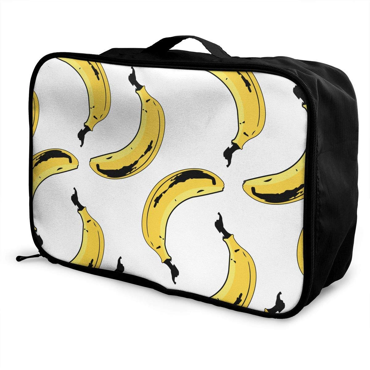 JTRVW Luggage Bags for Travel Lightweight Large Capacity Portable Duffel Bag for Men /& Women Bananas Seamless Pattern Travel Duffel Bag Backpack