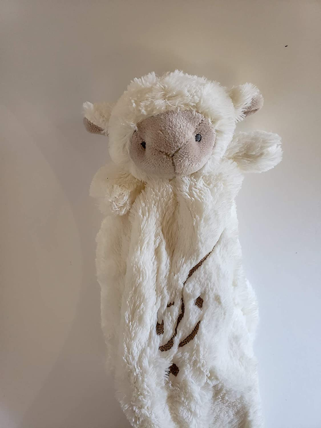 Personalized Lamb lovey Security Blanket