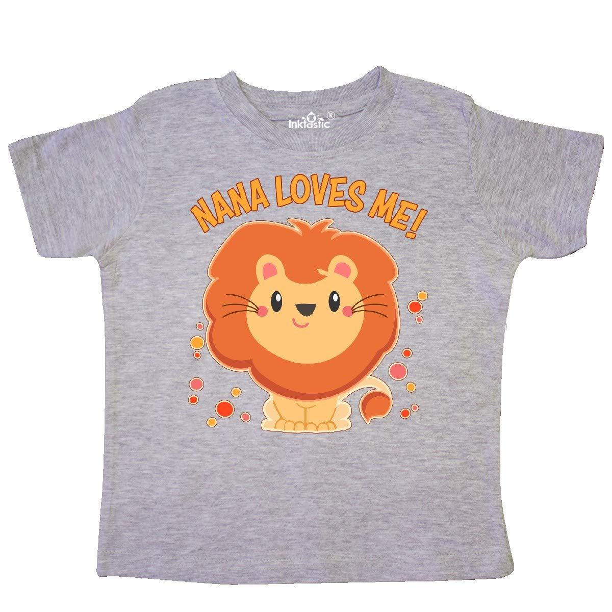 inktastic Nana is The Best Toddler T-Shirt