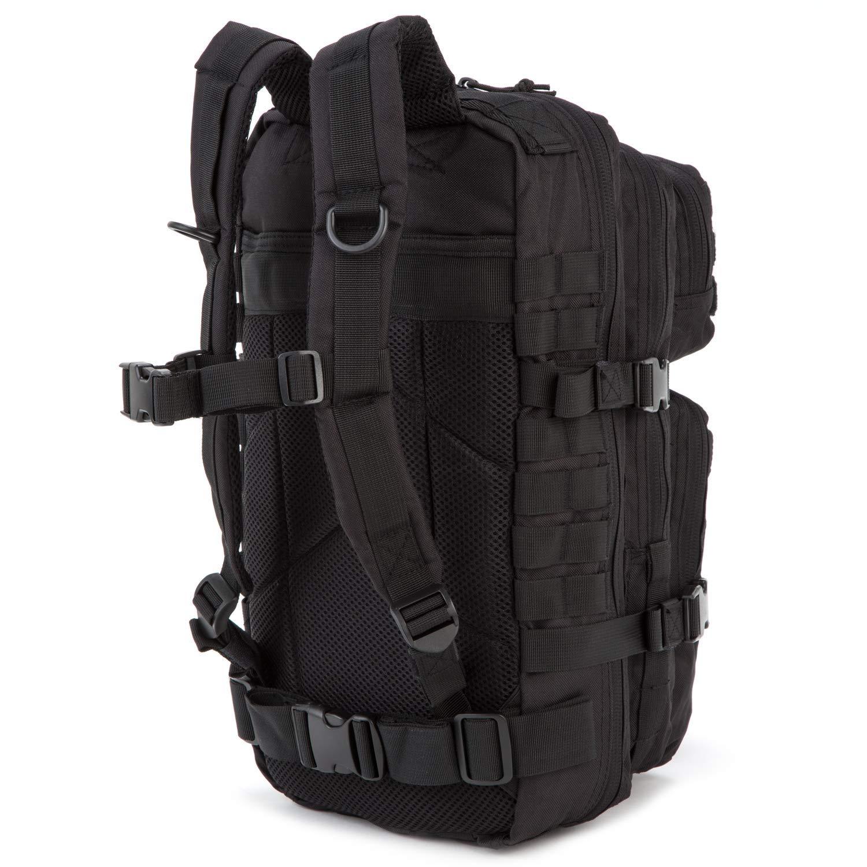 Mochila de asalto militar Matthias Kranz, 30 litros., color negro, tamaño 30 litros, volumen 30.0liters: Amazon.es: Deportes y aire libre