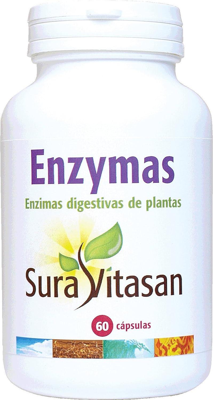 ENZIMAS DIGESTIVAS 60CAP SURAV: Amazon.es: Salud y cuidado ...