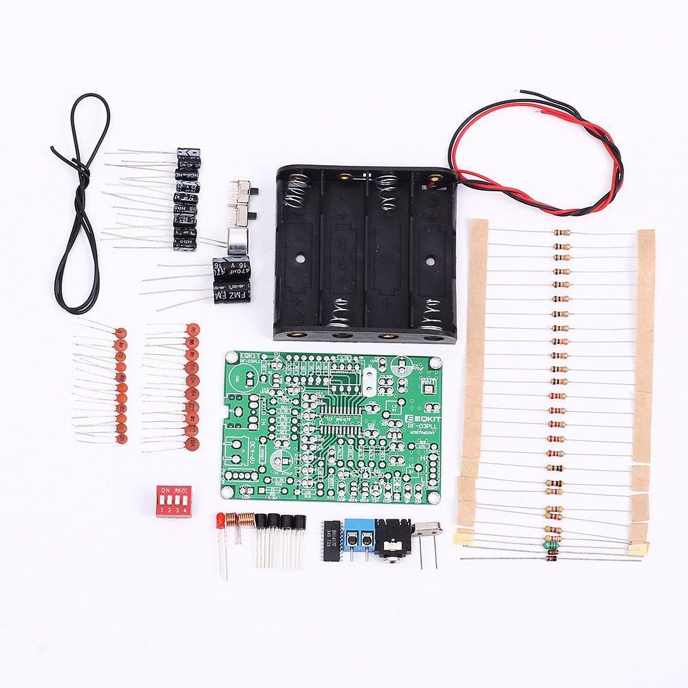 Fidgetfidget Fm Frequency Modulation Transmitter 1w Circuit Wireless Microphone Module Diy Kits 4 6v Electronics