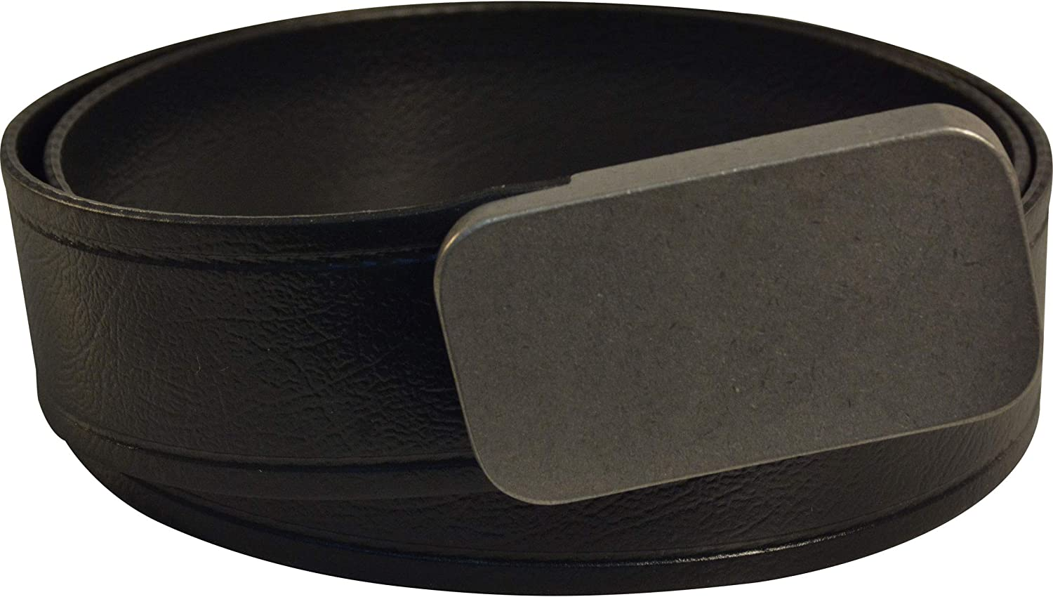 Lenwood Leather Blunt Force Trauma Webbing Belt 1.5 Stainless Steel Buckle PVC Coated Polyester